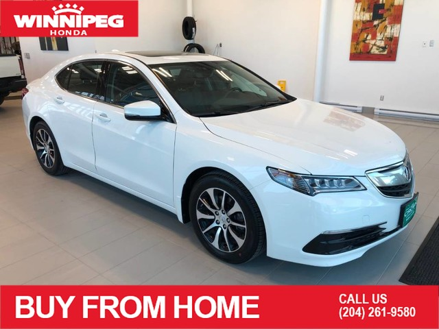 Pre-Owned 2017 Acura TLX FWD Tech / Sunroof / Leather / Rear view camera / Heated seats