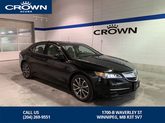 Pre-Owned 2015 Acura TLX Tech V6 SH AWD **0.9% Finance Rate*** Includes No Charge Warranty**Navigation **