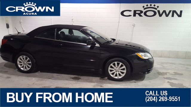 Pre-Owned 2011 Chrysler 200 LX Convertible **Low Kms** Off Season Blowout **