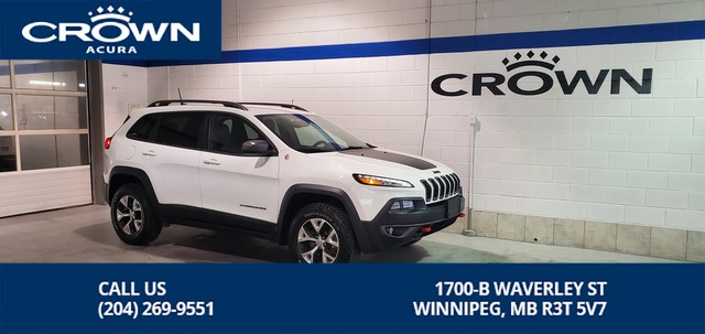 Pre-Owned 2016 Jeep Cherokee Trailhawk **Trail Rated 4x4** Terrain Select **