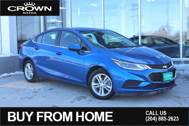 Pre-Owned 2017 Chevrolet Cruze LT w/1SD **Local Vehicle**