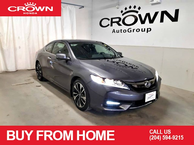 Pre-Owned 2017 Honda Accord Coupe EX/ 2dr/VERY LOW KMS/ BACK UP CAM/ MOOROOF/ HEATED SEATS/ ECON MODE ASSIST/ NAVIGATION