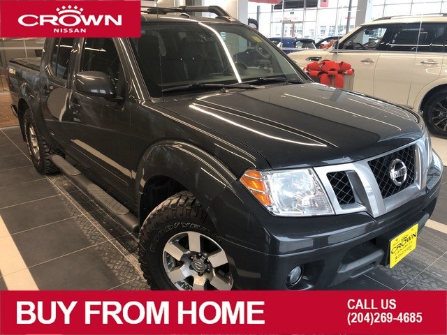 Pre-Owned 2013 Nissan Frontier PRO-4X 4WD *Backup Camera/Cruise Control*