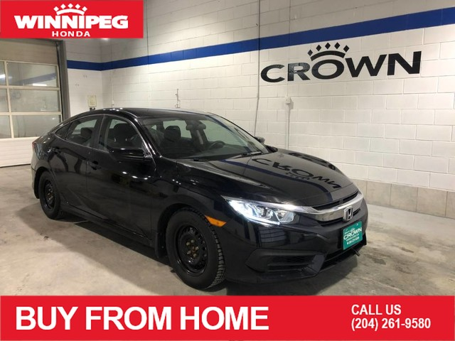 Certified Pre-Owned 2018 Honda Civic Sedan LX / Certified / Apple car play / Rear view camera / Heated seats