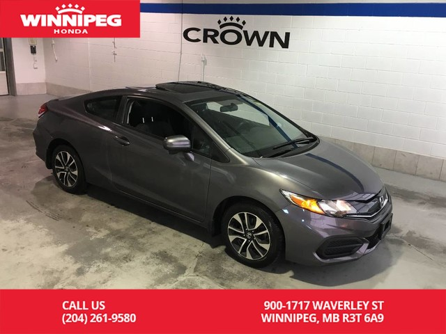 Pre-Owned 2015 Honda Civic Coupe 2dr Man EX