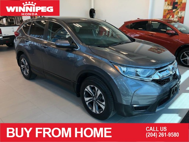 Certified Pre-Owned 2017 Honda CR-V Certified / LX / Bluetooth / Heated seats / Rear view camera