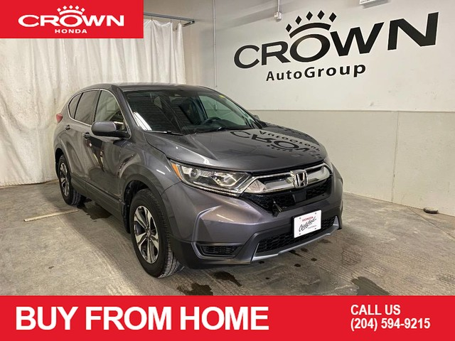 Pre-Owned 2018 Honda CR-V LX AWD/ ONE OWNER/ ACCIDENT FREE HISTORY/ LOW KMS/ APPLE CARPLAY AND ANDROID AUTO/ BACKUP CAMERA/ HEATED FRONT SEATS