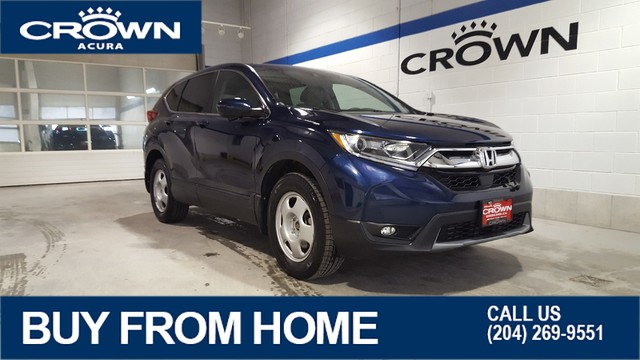 Pre-Owned 2017 Honda CR-V EX AWD **Includes Winter Tires & Rims**