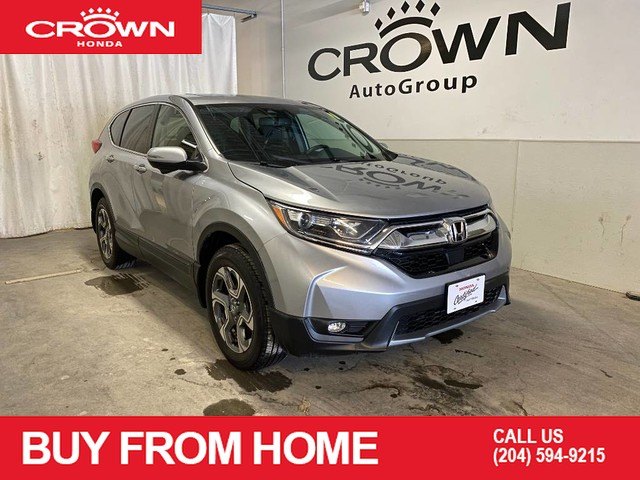 Pre-Owned 2018 Honda CR-V EX-L AWD | HEATED FRONT SEATS | APPLE CARPLAY | ANDROID AUTO | BACKUP CAMERA | PUSH START | SUNROOF