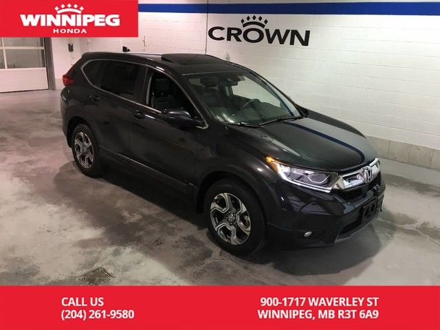 Pre-Owned 2019 Honda CR-V EX-L/Bluetooth/Heated seats/Heated steering wheel