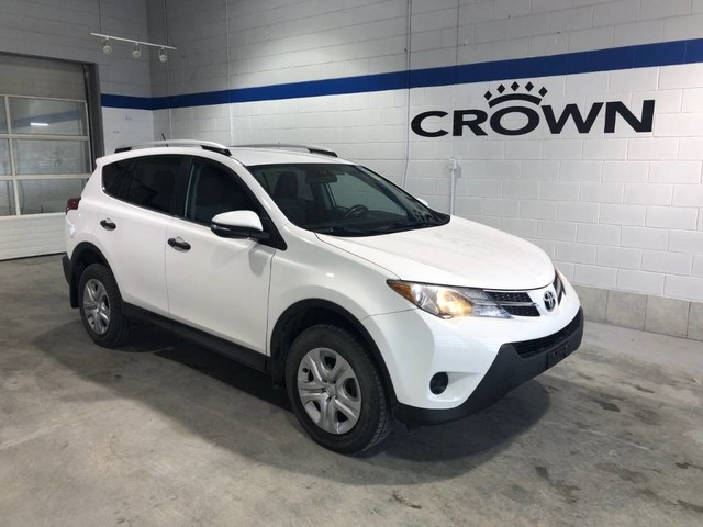 Pre-Owned 2013 Toyota RAV4 LE / AWD / Bluetooth / Sport mode