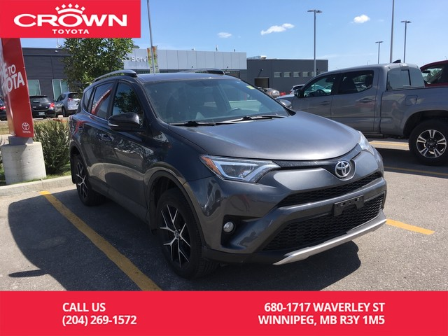 Pre-Owned 2016 Toyota RAV4 SE AWD / One Owner / Low Kms / Leather / Great Value