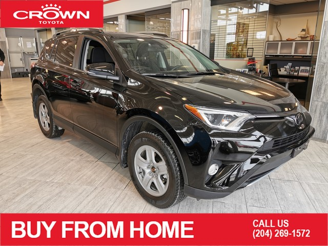 Pre-Owned 2018 Toyota RAV4 XLE / ACCIDENT FREE / CROWN ORIGINAL / INCLUDES WINTER TIRES