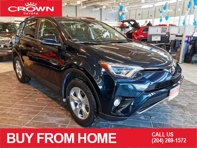 Certified Pre-Owned 2017 Toyota RAV4 XLE | Crown Original | Certified