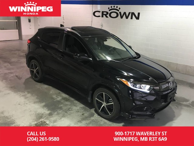 Pre-Owned 2019 Honda HR-V Sport/AWD/Sunroof/Push button start/Heated seats