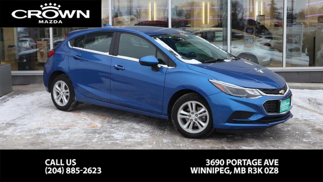Pre-Owned 2018 Chevrolet Cruze LT w/1SD **Accident Free/Local/One Owner**