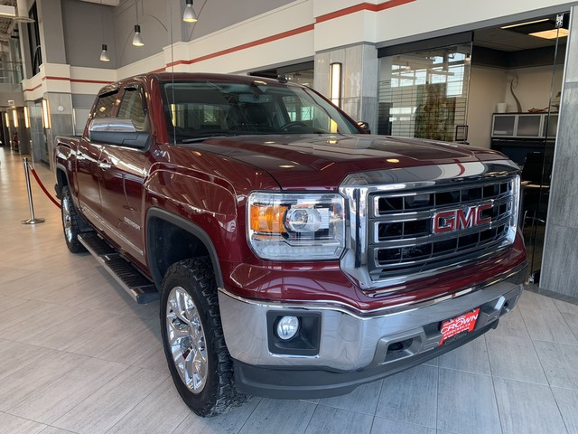 Pre-Owned 2014 GMC Sierra 1500 Local Trade | One Owner | Crew Cab | SLT | 4x4