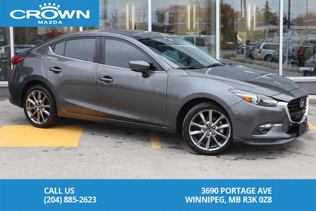 Pre-Owned 2018 Mazda3 GT **Super Low KM**