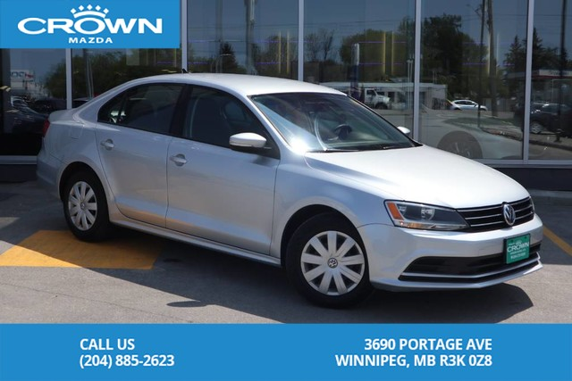 Pre-Owned 2015 Volkswagen Jetta Sedan Trendline+ **One Owner/Lease Return**