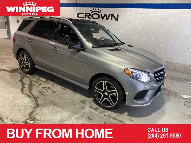 Pre-Owned 2016 Mercedes-Benz GLE GLE 450 AMG / Navigation / Panoramic roof / Heated steering wheel