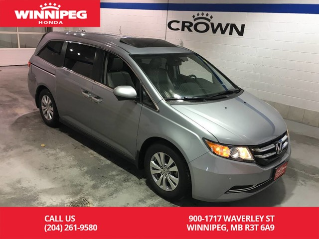 Pre-Owned 2016 Honda Odyssey EX-L w/RES/Bluetooth/Heated seats/Power driver seat/Power tailgate