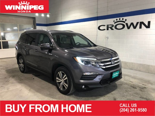 Pre-Owned 2016 Honda Pilot EX-L / Sunroof / Heated seats / Rear view camera / Leather