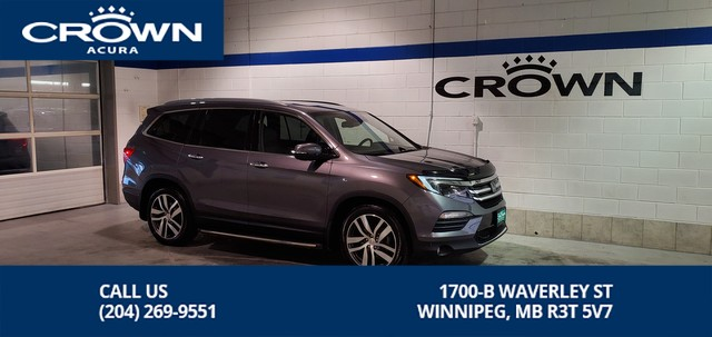 Pre-Owned 2016 Honda Pilot Touring 4WD **Navigation** DVD Player ** 7 Passenger **