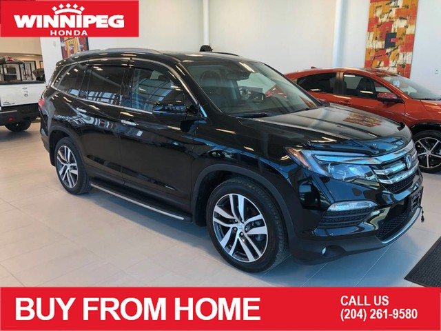 Pre-Owned 2018 Honda Pilot Touring / DVD / Heated steering wheel / Climate controlled seats
