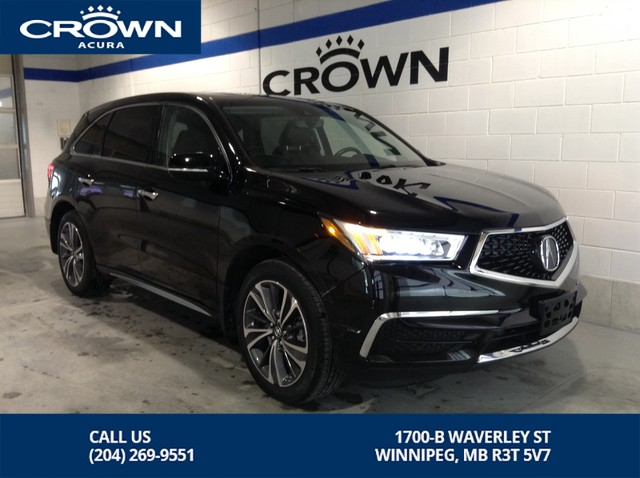 Pre-Owned 2017 Acura MDX Premium SH AWD ** Added Rear Heated Seats** 20 Alloy Rims **