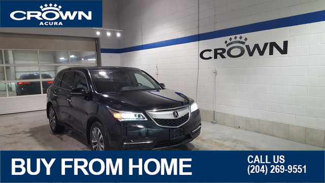 Pre-Owned 2014 Acura MDX Nav SH-AWD ** 7 Passenger ** Crown Original**