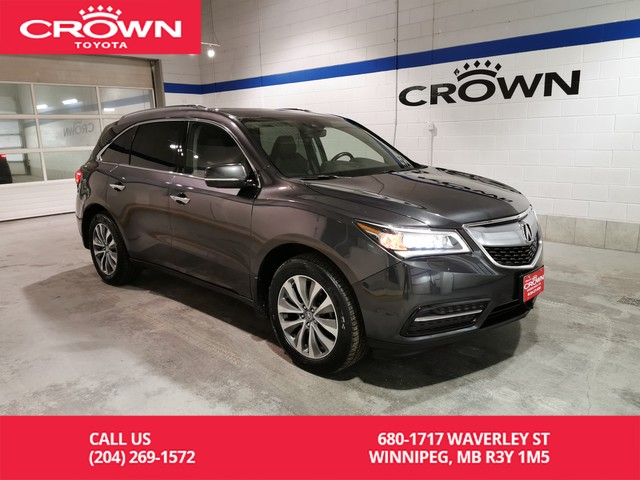 Pre-Owned 2016 Acura MDX SH-AWD Nav Pkg / Crown Original / Services with Acura / Leather / Great Value