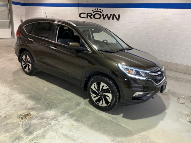 Pre-Owned 2016 Honda CR-V Touring / Navigation / Bluetooth