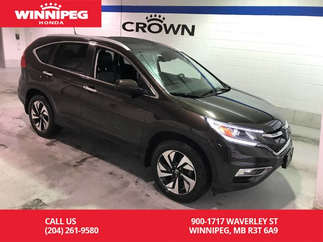 Pre-Owned 2016 Honda CR-V Certified/Touring/Bluetooth/Power tailgate/Navigation