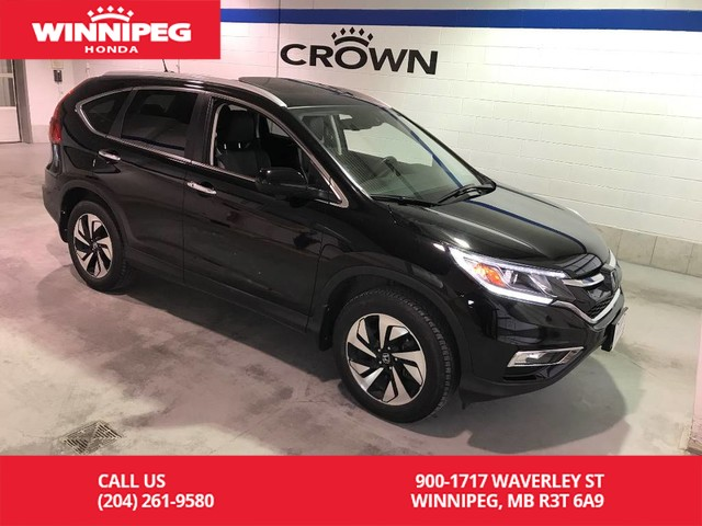 Pre-Owned 2015 Honda CR-V Certified/Touring/Fully loaded/Bluetooth/Navigation/Power tailga