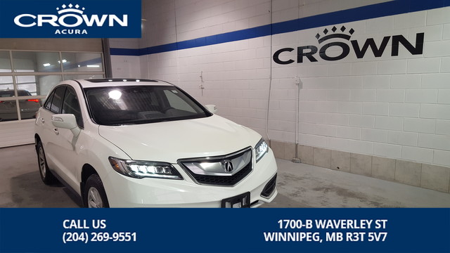 Certified Pre-Owned 2016 Acura RDX Tech SH-AWD **Includes No Charge 130000 Km Warranty** Remote Starter**