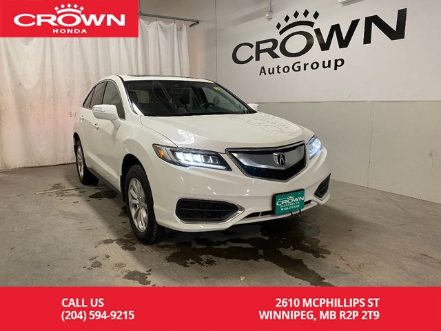Pre-Owned 2016 Acura RDX AWD 4dr Tech Pkg/ ONE OWNER/ LOW KMS/ NAVIGATION/ BACKUP CAM/ HEATED FRONT SEATS/ SUNROOF