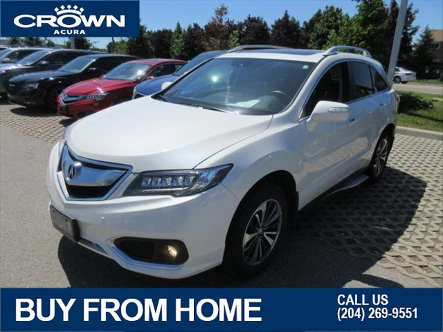 Certified Pre-Owned 2017 Acura RDX Elite AWD **7 Year 160000 Km Extended Warranty**