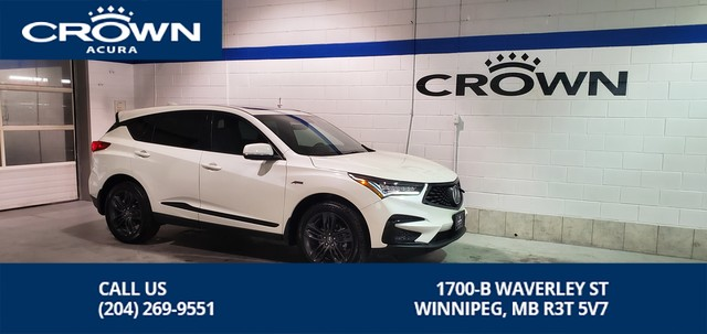 Certified Pre-Owned 2019 Acura RDX A-Spec ** Includes No Charge Certified Warranty** A-spec package**