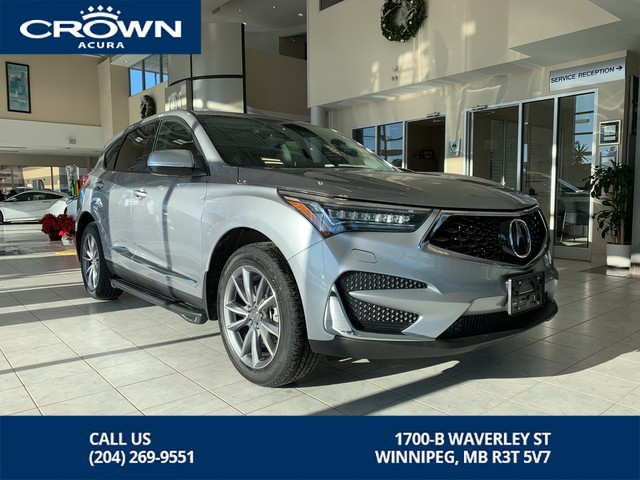 New 2019 Acura Rdx Elite Awd Suv In Winnipeg 339179 Crown Acura