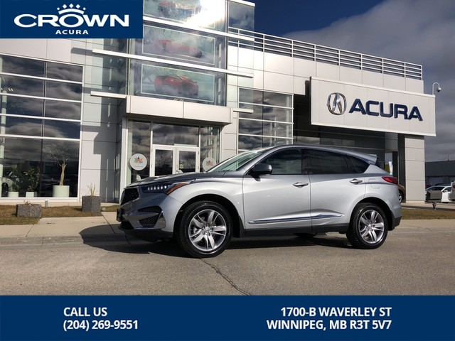 New 2019 Acura Rdx Platinum Elite Awd Suv In Winnipeg 339048