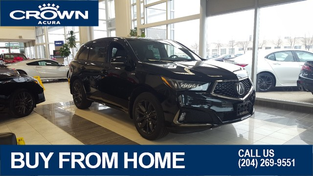 New 2020 Acura MDX A-Spec SH-AWD