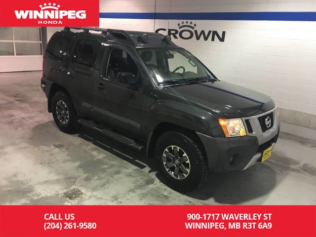 Pre-Owned 2015 Nissan Xterra PRO-4X/Leather/Navigation/Sunroof/Trail Lights