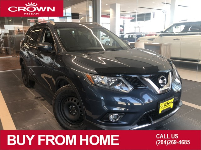 Pre-Owned 2016 Nissan Rogue SV TECH AWD *Navigation/Backup Camera/Crown Original*