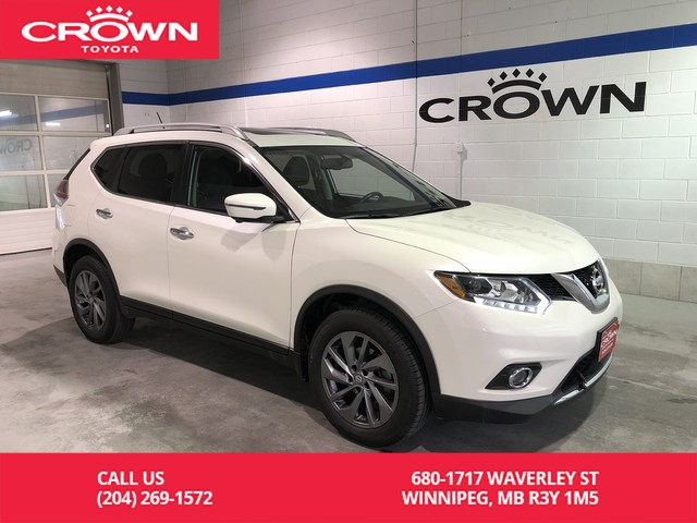 Pre-Owned 2016 Nissan Rogue SL Premium AWD / Accident Free / Bose Sounds / Leather / Forward Collision Warning / Fully Loaded