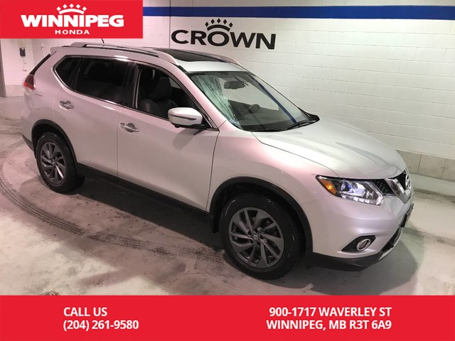 Pre-Owned 2016 Nissan Rogue AWD/SL./Premium/360 camera/Heated seats/Panoramic roof