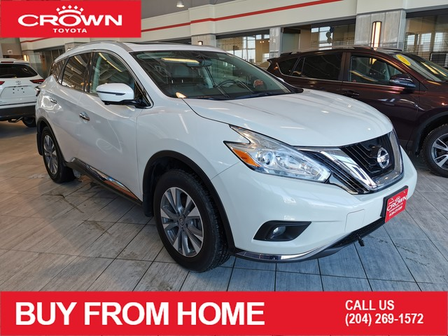 Pre-Owned 2016 Nissan Murano SL | Crown Original | AWD | Leather | Low KMS