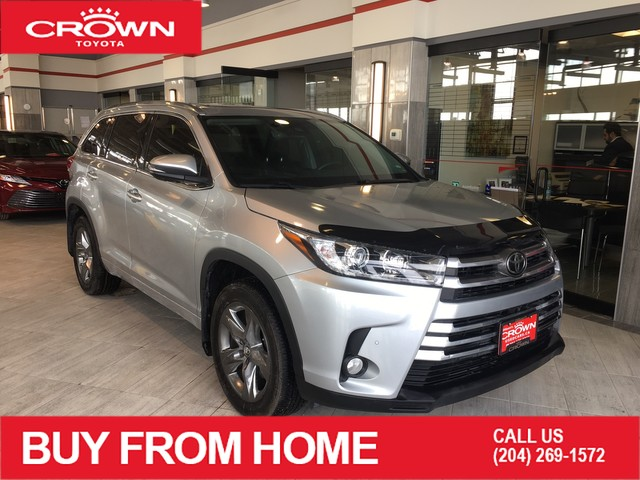 Certified Pre-Owned 2017 Toyota Highlander Limited | Accident Free | One Owner