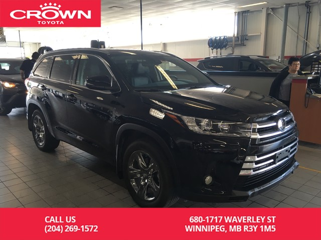Toyota Highlander 2017 Lease >> Pre Owned 2017 Toyota Highlander Limited Awd Crown Original Lease Return Clean Carproof Awd