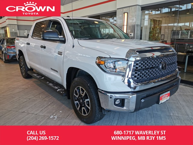 Pre-Owned 2018 Toyota Tundra 4x4 / CREWMAX / HEATED SEATS / SUNROOF / BACK UP CAMERA / SR5 PLUS / LOCAL / ONE OWNER / LOW KMS!!