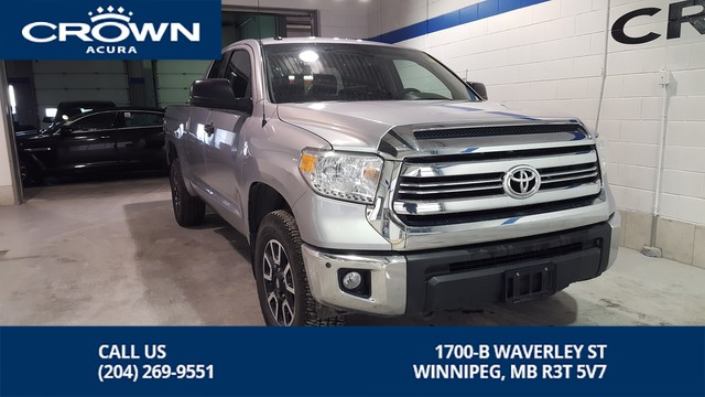 Pre-Owned 2017 Toyota Tundra 4WD Double Cab 146 5.7L SR5 Plus